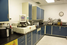Metallographic lab